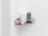 Hans-Christian Lotz. Untitled, 2017. Soaps, shampoos, and shower corner basket. 22 x 24 x 24 cm