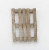 Merlin Carpenter. Sick Title, 2017. Wooden pallet. 100 x 74 x 18 cm