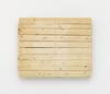 Merlin Carpenter. Important Title, 2017. Wooden pallet. 99 x 123,5 x 13,5 cm