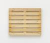 Merlin Carpenter. Great Title, 2017. Wooden pallet. 100 x 120 x 14 cm