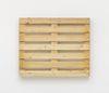 Merlin Carpenter. Great Title, 2017. Wooden pallet. 100 x 120 x 14 cm
