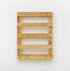 Merlin Carpenter. Witty Title, 2017. Wooden pallet. 80 x 60 x 13 cm