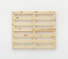 Merlin Carpenter. Wacky Title, 2017. Wooden pallet. 98,5 x 118 x 13,5 cm