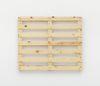 Merlin Carpenter. Wacky Title, 2017. Wooden pallet. 98,5 x 118 x 13,5 cm
