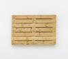 Merlin Carpenter. Political Title, 2017. Wooden pallet. 80 x 120 x 14 cm