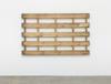 Merlin Carpenter. Funny Title, 2017. Wooden pallet. 210 x 126 x 10 cm
