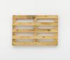 Merlin Carpenter. Clever Title, 2017. Wooden pallet. 80 x 120 x 14 cm