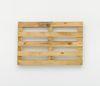 Merlin Carpenter. Clever Title, 2017. Wooden pallet. 80 x 120 x 14 cm