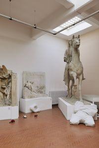 Installation view. Benjamin Hirte/Chadwick Rantanen, 2017. Museo Pietro Canonica, Rome