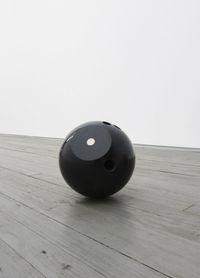 Gamebraker, 2013. Cut bowling ball. ø 20,3 cm