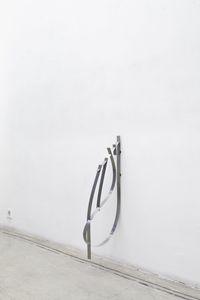 cocc, 2016. Spring, steel, rubber, screws. 50 x 40 x 2,5 cm