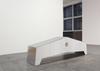 Joint, 2015. Aluminum, styrofoam. 70 x 250 x 50 cm
