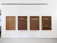 Installation view. Hans-Christian Lotz, 2016. Dominique Lévy, New York