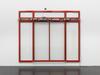 Untitled, 2015. Aluminium, glass, rubber, silicone caulk, record STA 20 module, mixed media. 275 x 400 x 20 cm