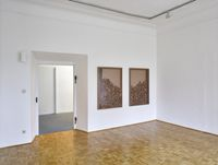 Installation view. Anita Leisz, Hans-Christian Lotz, 2016. Freudenberger at Galerie der Stadt Schwaz