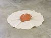 Shelly Nadashi. Leaves, 2015. Ceramic and fabric. H. 13 cm