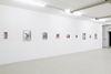 Installation view. Till Megerle. The Thug Silhouette, 2017. Kunstbunker Nuremberg