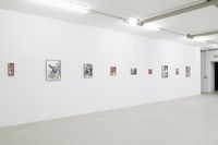 Installation view. The Thug Silhouette, 2017. Kunstbunker Nuremberg