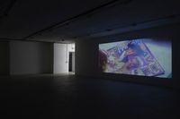 Installation view. Rap, in The Thug Silhouette, 2017. Kunstbunker Nuremberg