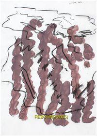 Portikus Poster (Rebound), 2011. Offset print