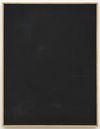 Julia Haller. Untitled, 2015. Bone glue, chalk, ferric oxide, gesso on linen, laser engraving on glass, oak frame. 66 x 51 cm. Passion, 2014. Christian Andersen, Copenhagen