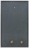 Rain over Water, 2017. Aluminum, glass, plastics, latex print, pig brains, pumice, RFID-tag. 163 x 98 x 4 cm