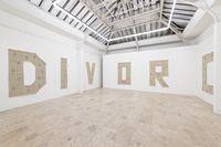 Installation view. Divorce, 2015. Gaudel de Stampa, Paris