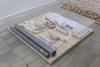 Untitled, 2018. Wood, ceramics, plastics, cotton, acrylic glass. 105 x 100 x 18 cm