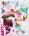 Untitled, 2015. Vinyl paint, oil on canvas. 240 x 190 cm