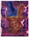 Discourse, 2018. Acrylic on wood panel. 66,4 x 50,8 cm