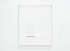 Untitled text (like notes), 2012. Mixed media on paper, Plexiglas case. 88 x 72 x 8 cm
