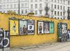 Exhibition posters throughout the city of Copenhagen