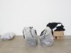 Dismantled Molleton (in bags), 2016. Molleton, bags. 55 x 90 x 70 cm