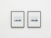 Notes on Site Specificity (Documentation), 2006. Archival inkjet print. 2 parts, each framed 54 x 44 cm