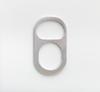 Benjamin Hirte. Clip (dropped version), 2016. Aluminum. 21 x 12.50 x 0.70 cm