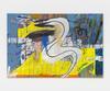 Edith Deyerling. Smokey eye, 2015. Oil and acrylic on canvas. 70 x 105 cm