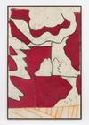 Tom Humphreys. Postcard, 2016. Acrylic, charcoal, pastel on canvas. 190.70 x 126 cm