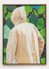Tom Humphreys. Chamois, 2016. Acrylic on linen, wood, glass. 185 x 135 cm