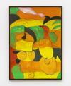 Tom Humphreys. Tropical fruit, 2016. Acrylic on canvas. 88.20 x 63.70 cm