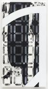 Sean Paul. 88.8888, 88.8888 ND2, 2018. Acrylic on cotton and polyester-polyamide. 115,3 x 61 x 3 cm