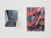 Sara Deraedt. Untitled, 2010. Xerox print, magnets. 29,5 x 21 cm  Sara Deraedt. Hoover ® (2), 2014. Xerox print, magnets. 41,8 x 29,6 cm