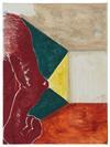 Rasmus Nilausen. Elbow Room, 2018. Oil on linen. 40 x 30 cm