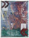 Rasmus Nilausen. Memory is almost full, 2019. Oil on linen. 146 x 114 cm