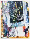 Morten Skrøder Lund, Untitled, 2015. Oil, nails on canvas. 170 × 130 cm