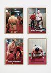 Shelly Nadashi. Sumo Souvenir, 2015. Four archival inkjet prints. Each 60,7 x 43,4 cm