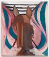 Tom Humphreys. Rider, 2019. Oil on linen. 70,5 x 60,5 cm. Christian Andersen, Copenhagen