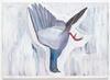 Tom Humphreys. White pigeon, 2019. Oil on linen. 130 x 180 cm. Christian Andersen, Copenhagen