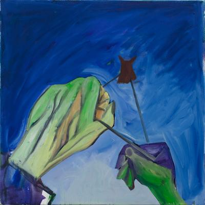 Tom Humphreys. Blue Void, 2019. Christian Andersen, Copenhagen