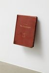 Rolf Nowotny. Membrane, 2010. Patinated book. 19,5 x 14,8 cm. Mouthbreather, 2010. Christian Andersen, Copenhagen