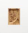 Patricia L. Boyd. SL-1200MK2 Face, 2019. Used restaurant grease, wax, damar resin. 31 x 22.5 cm